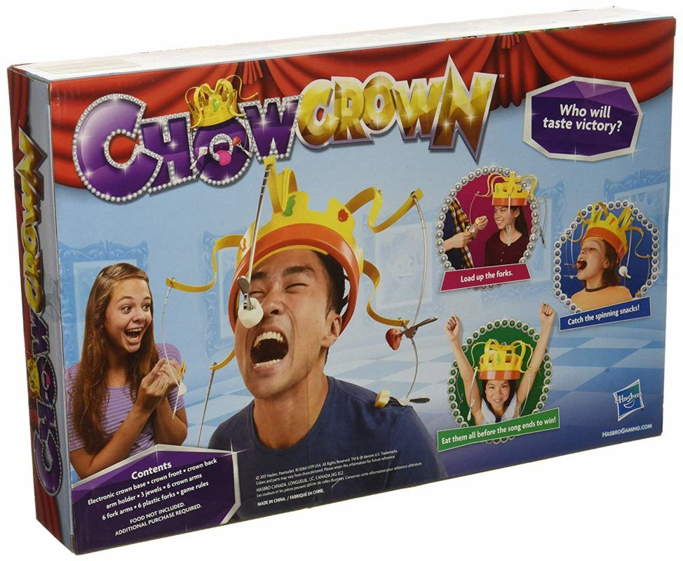 corona de chow juego divertido para la familia