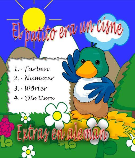 Extra alemán. Farben, Nummer, Worter, Die tiere. tu bebé aprende jugando.