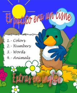 Extras colors, numbers, words, animals. vídeo de aprendizaje