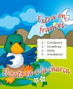 Extra en francés de el pato va a la charca