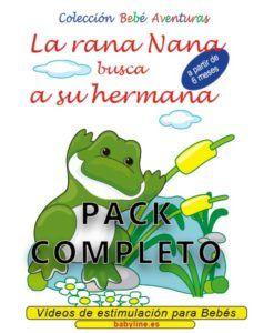 La rana Nana busca a su hermana pack completo