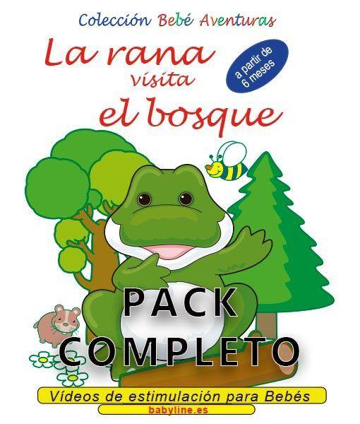 La rana visita el bosque - pack completo