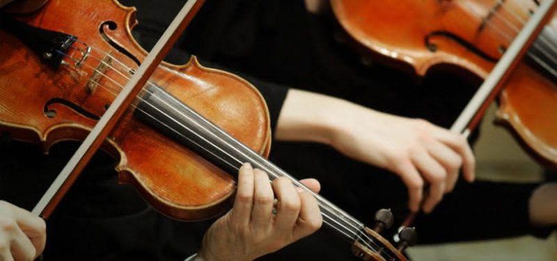 Violines, música clásica