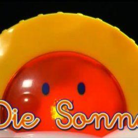 El sol en alemán. Palabras para bebés